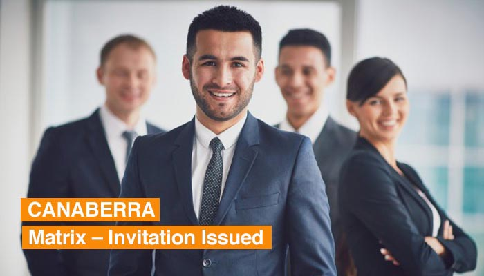 Canberra Matrix – Invitation Issued